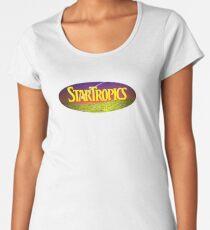 Star Tropics NES Cover Women's Premium T-Shirt