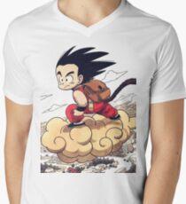 Kid goku Men's V-Neck T-Shirt