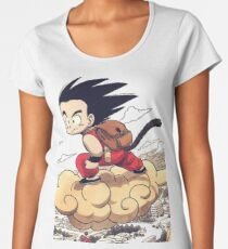 Kid goku Women's Premium T-Shirt