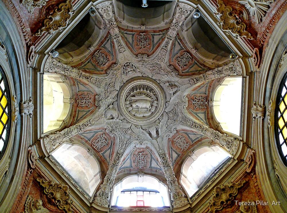 Dome. Abóboda. Igreja Nossa Senhora da Encarnação by terezadelpilar ~ art & architecture