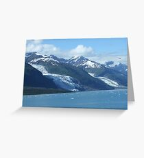 The Glaciers Greeting Card