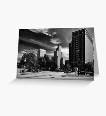 Downtown Providence Greeting Card