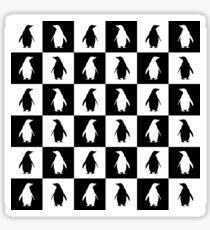 penguins love Sticker