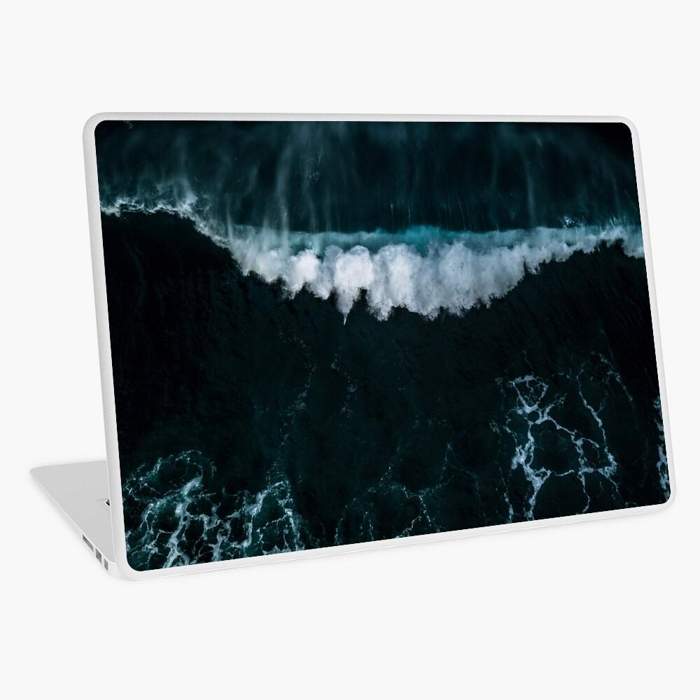 Welle in Bewegung - Ozean Fotografie Laptop Folie