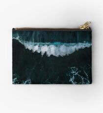 Wave in Motion - Ocean Photography Studio Pouch
