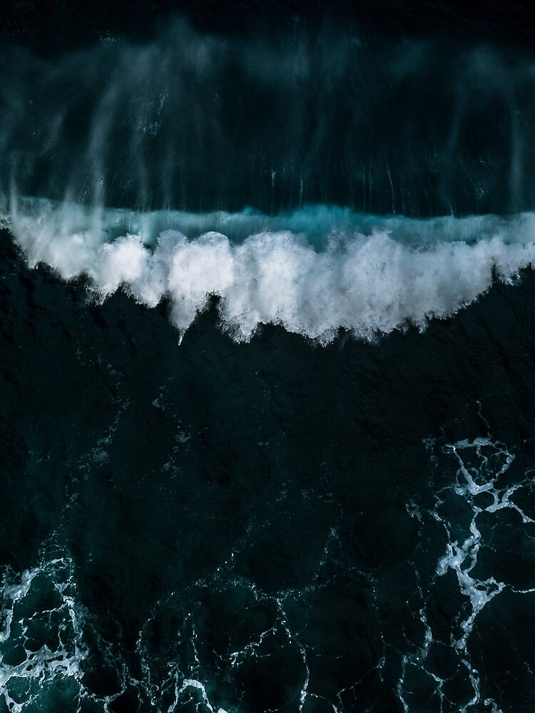 Wave in Motion - Ocean Photography by regnumsaturni