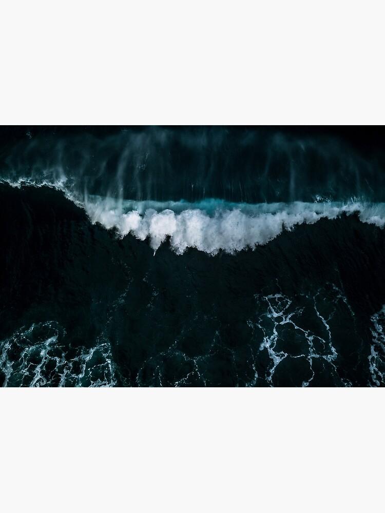 Welle in Bewegung - Ozean Fotografie von regnumsaturni