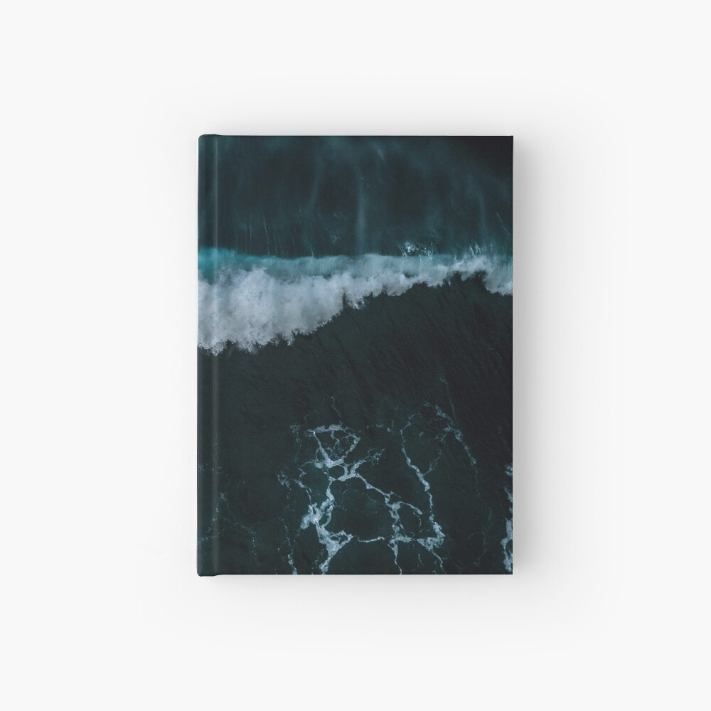 Welle in Bewegung - Ozean Fotografie Notizbuch