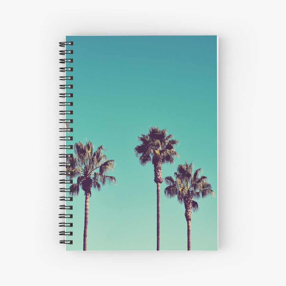 California Palm Trees Spiral Notebook