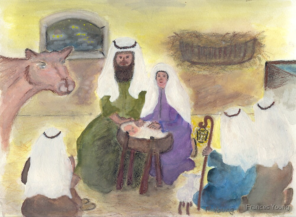 Nativity Scene by Frances Young