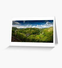 Monsal panorama Greeting Card