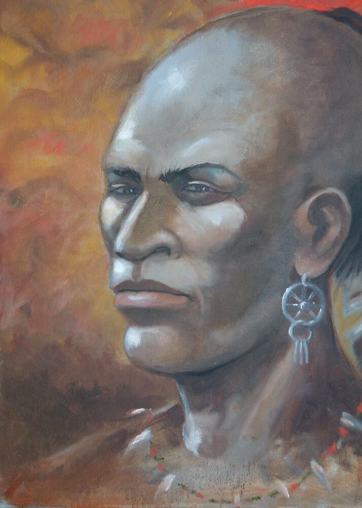 melungeon Warrior  by haddox