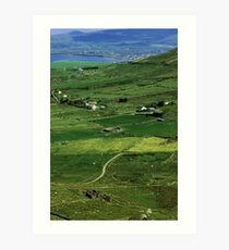 Irish county Art Print