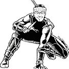 Ninja Biden by mandraws