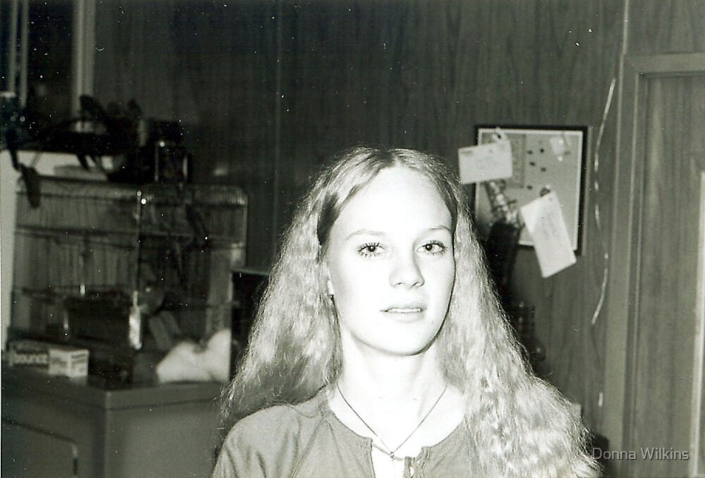 Me at 18 by Donna Wilkins