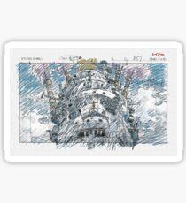 Chateau Ambulant Sticker