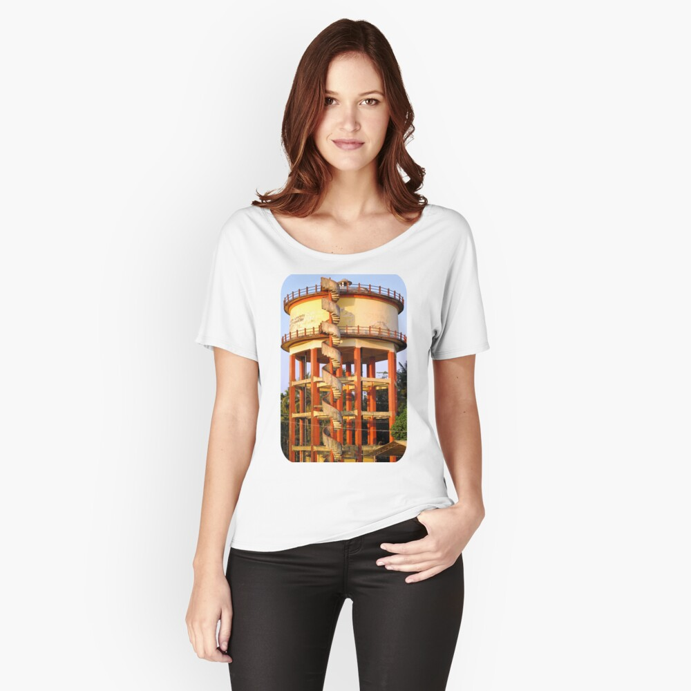 Water Tower  Women's Relaxed Fit T-Shirt Front