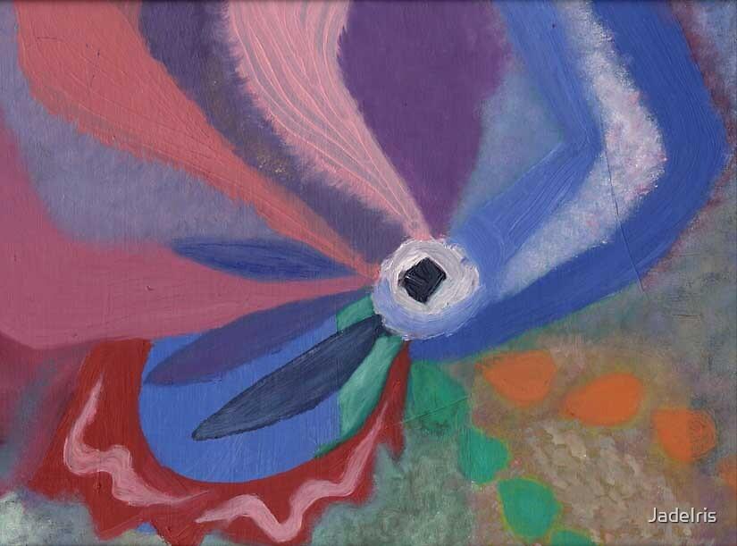Abstract Peace by JadeIris