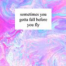 Fall Before You Fly by Tangerine-Tane