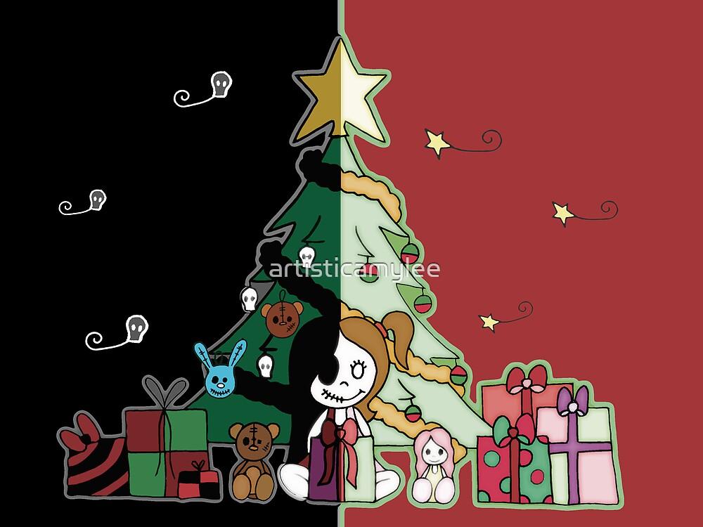 Cute & Creepy Christmas by Amy-lee Foley