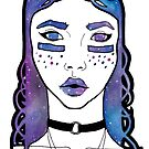 Galaxy Girl #1 by Desiree Amber Moore