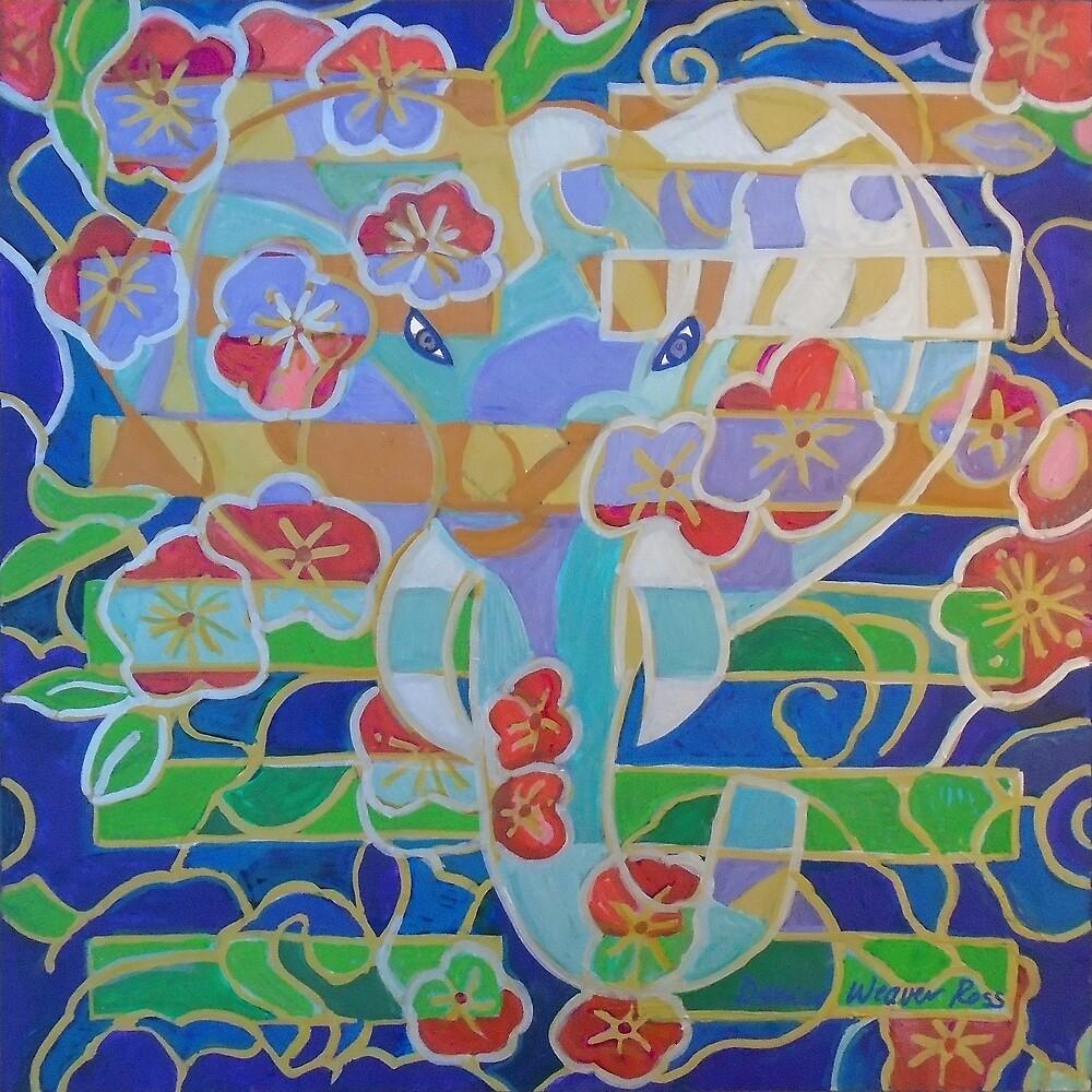 Hexagram 16: Yu (Enthusiasm) by Denise Weaver Ross