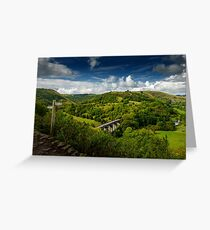 View from Monsal Head Greeting Card
