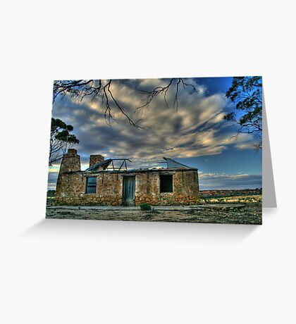 Hill top House Greeting Card