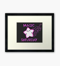 Magic Saturday Framed Print