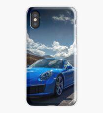 Porsche 911 on the Isle of Skye  iPhone Case/Skin