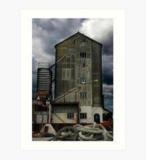 Maldon Dockyard Art Print