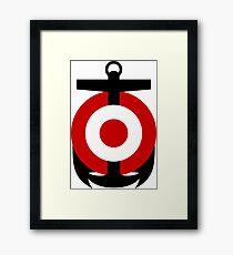 Roundel of the Peruvian Peruvian Naval Aviation Framed Print