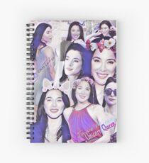 Jaime Murray  Spiral Notebook
