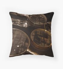 Magnifying Reflections Throw Pillow