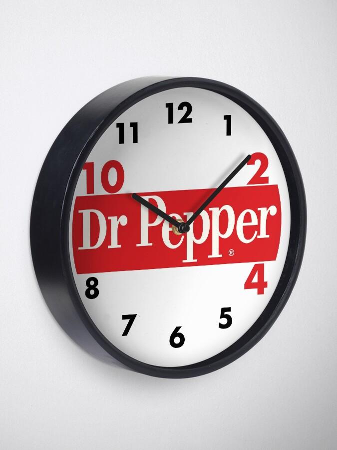 Alternate view of DR.PEPPER 4 Clock