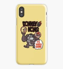 Vintage Donkey Kong Sticker iPhone Case/Skin