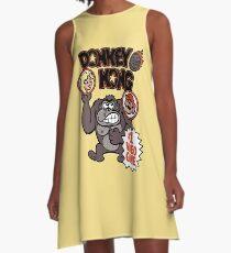 Vintage Donkey Kong Sticker A-Line Dress