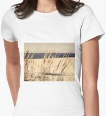Dune Grass Women's Fitted T-Shirt