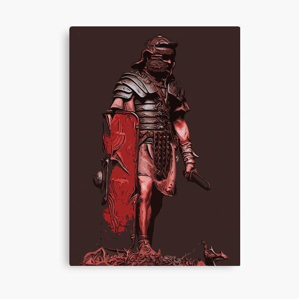 Ancient Warriors - Roman Legionary Canvas Print
