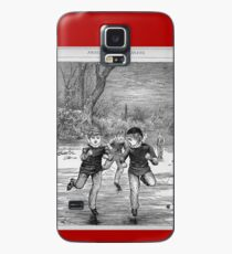 Ice skating on the pond Case/Skin for Samsung Galaxy