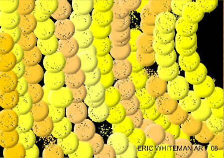 (YELLOW) ERIC WHITEMAN ART by eric  whiteman