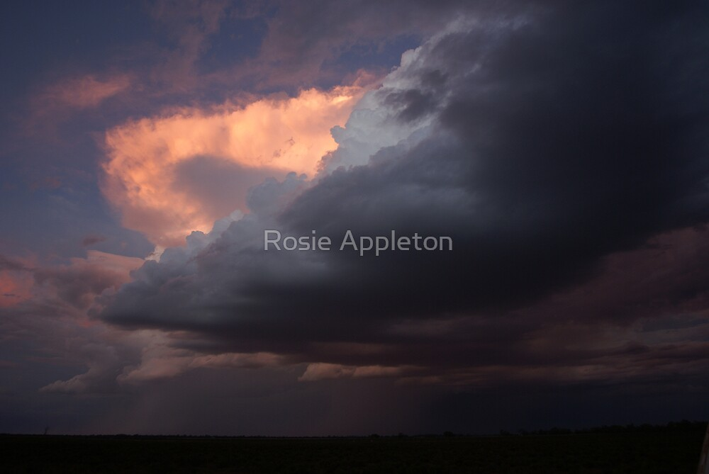 While the storm rages - Wentoworth, NSW by Rosie Appleton