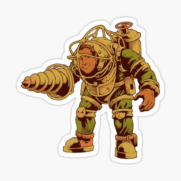 Big Daddy Sticker
