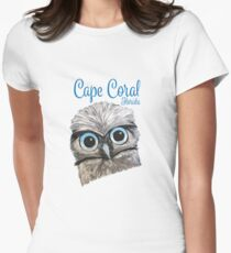 Cape Coral Florida Burrowing Owl Women's Fitted T-Shirt