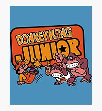 Vintage Donkey Kong Junior Photographic Print