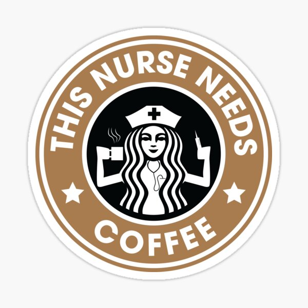 Cette infirmière a besoin de cadeaux drôles d'infirmière autorisée de café Sticker