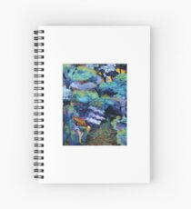 The haven of the Moon Spiral Notebook