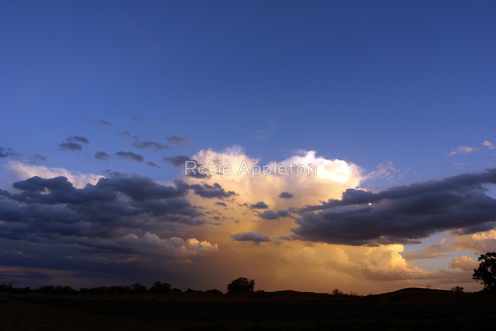 Sunset Storm by Rosie Appleton