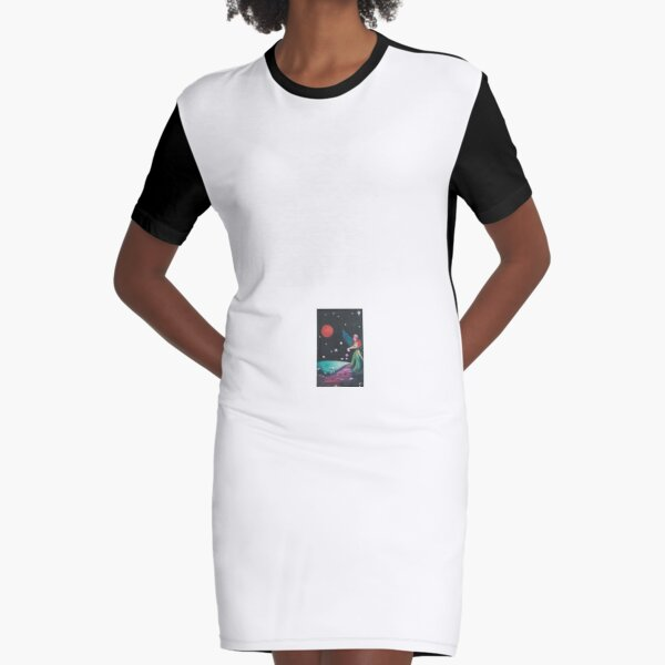 Heavenly Blessing Graphic T-Shirt Dress