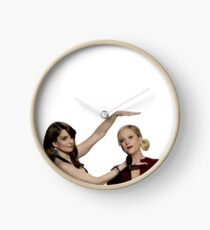 tina and amy Clock
